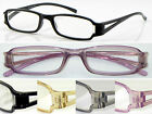 L5 Memory Plastic TR90 Reading Glasses+50+75+100+125+150+175+200+225+250+275+300