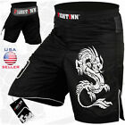 MMA Grappling Shorts UFC Mix Cage Fight Kick Boxing Fighter Short Size -M, L, XL