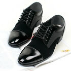 New Mens Dress Formal Casual Mens Oxford Shoes Black