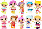 LALALOOPSY DOLL LOT IRON ON T-SHIRT FABRIC TRANSFER SPRINKLE BUNDLES SQUIRT