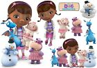 DOC McSTUFFINS STICKER WALL DECAL OR IRON ON TRANSFER T-SHIRT FABRICS lot DM