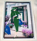 Art Deco Lady Shopping in Paris Birthday Card - general or family member card 4