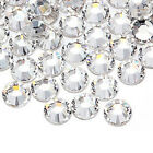 1000 Rhinestones Crystal Flat Back Acrylic Faceted 1mm 2mm 3mm 4mm 5mm 7mm 11mm