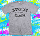 Squats and Oats - Gym - Weight Lifting - Weight Training - T Shirt
