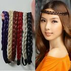 32 in. Long 9 Color No-Bangs Big Wavy Cosplay Wig+Braid Hair Bands Free Shipping