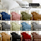 Cheapset price 1000TC 4PCs Sheet Set 100%Egyptian Cotton In All UK Color & Size