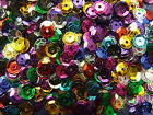 5 Grams 7 mm 600 Cup Sequins Red/Black/Blue/Pink/Gold/Silver/Mixed Craft Job Lot