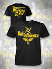Official TNA Impact Wrestling Bad Influence T-Shirt (3 Colours Available)