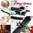 Leather Hole Punch Hand Pliers Watch Shoes Bag Belt Strap Band Craft Repair Tool