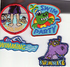Girl/Boy Scout/Guides Patch/Crest/Badge POOL  SWIMMING  SWIM PARTY (your choice) $1.0 USD on eBay