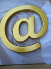 "Movie Theatre Marquee Letters- The ""AT"" sign aka ""@"" 17 Inch Tall YELLOW GOLD"