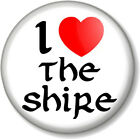 The Hobbit & Lord of the Rings 25mm 1 I Love / Heart Pin Button Badge Designs