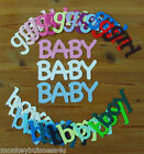 Word Die Cuts - Baby - Boy/Girl - Baby Shower - Invitation/Topper/Party - Cards