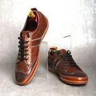 BELIVUS GS009 Casual sneakers/verified quality premium leather shoes/ Browns_M