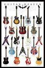 Choice of Guitar Maxi Poster. NEW. Classic Guitars, Marshall Amps, Guitar Hero's