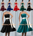 New 6 Colour Bridesmaid/Prom Ball Wedding Cocktail Gown Evening Dress Size 6-24