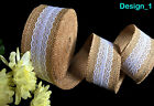10m, 20m, 25m, 50m Top Quality Natural Jute Twine Hessian String Crafts Wedding