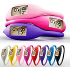 ION DIGITAL SILICONE WOMENS FASHION SPORT WRIST WATCH WATERPROOF ANION BRACELET