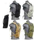 Внешний вид - Lancer Tactical Light Weight Hydration Pack With Bladder Black Tan ACU OD Green
