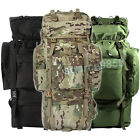 80L Outdoor Military Backpack Rucksacks Camping Hiking Water-resistan Bag