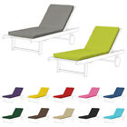 Lounger Recliner Outdoor Replacement Cushion Garden Pads Sun Bed Deckchair Patio