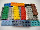 Lego Plate 2 X 6 Part No 3795 Colours & Qty Listed