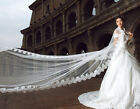 NEW mantilla bridal wedding lace veil cathedral Veils 4m/5m/6m/10 with Custom