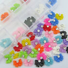 60PC Bow Tie Acrylic Nail Art Rhinestone Cell Phone Nail Decoration Accessories