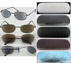 SL139 Classic Sun Reading Glasses With Hard Case/Mens' Metal Frame/Spring Hinges