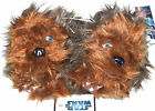 Nwt New Star Wars Chewbacca Chewie Wookiee Slippers Shoe Brown Fur Toddler Boy