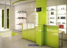Green High Gloss Acrylic Kitchen Cabinet Doors/Drawer Fronts, British Made,