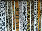 Cut May Arts High Quality Animal Print Ribbons - 1m, 1 metre