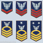 USN E-4 5 6 7 8 9 3rd 2nd 1st Class Chief Petty Officer Rank Hat Pin You Choose