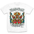 NEW W/ TAGS Steadfast Brand PAY YOUR DUES Tee Shirt WHITE SMALL-5XLARGE LIMITED