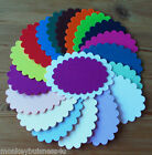 Frame Die Cuts - Scallop Ovals - Layering - Invitations - Party - Cardmaking