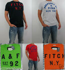 NWT Abercrombie & Fitch A&F Men Muscle Fit Lost Pond Embroidered Tee T Shirt