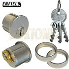 Enfield Screw in Round Mortice Cylinder Lock Barrel Pair to Suit Adams Rite Lock