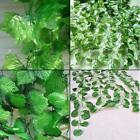 ARTIFICIAL FAUX IVY VINE SILK LEAVES GREEN PLANTS HOME WALL DECOR DECORATION