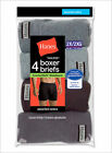 4 Pack Hanes Big Men's ComfortSoft Boxer Brief Assorted Colors Size 2XL