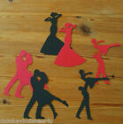 Silhouette Die Cuts - Topper - Dancing - Valentine - Mothers Day - Birthday