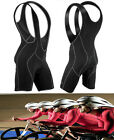 Men's Women's Cycling Bicycle Bike Bib Shorts Padded Braces 3D GEL Pants S~XXL