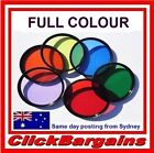 FULL COLOUR FILTER RED ORANGE YELLOW GREEN BLUE OR PURPLE 52/55/58/62/67/72/77mm