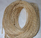 40m Soft Luxury Natural Brown Jute Burlap Hessian Rustic Twine String Crafts Tag