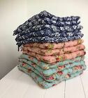 FLORAL PADDED SEAT PAD CUSHIONS TIE BACKS KITCHEN CHAIR CONSEVATORY DINING