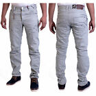 BMWT Men's ETO Grey Tapered Chino Jeans Waist Size 28 30 32 34 36 38 40 42 EM424