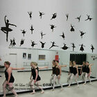 23 PCs Ballerinas Ballet Dance Dancing Removable Wall Art Stickers Vinyl Decal