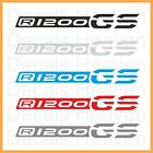 "NEW BMW R1200GS 2013 LC 2pcs Logo ""Beak"" Stickers R 1200 GS Decals M#1"