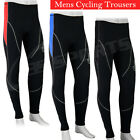 Mens Cycling Trouser Winter Tight CoolMax Padded Running Cycle Legging S-M-L-XL