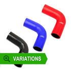 60mm - Silicone Hose 90 Degree Elbow - Silicone Bend Corner Coupler Pipe Rubber