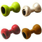 Painted Lead Eyes BarBell-Dumbell shape - Fly Tying 4 colors / 4 sizes available